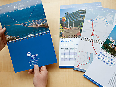 Rostock Port USA Booklet